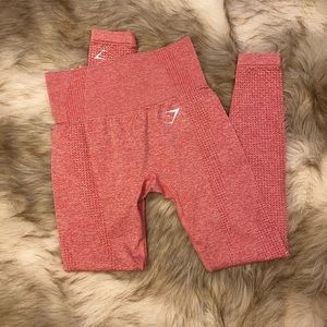 Gymshark Vital Seamless Leggings - Pink Marl XS